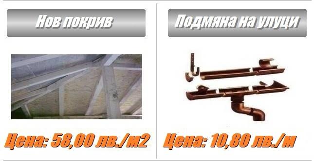 Ремонт на покриви и изграждане