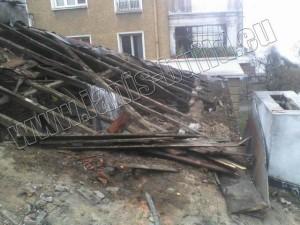 Демонтаж на стар покрив - гр. София