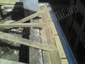 Изграждане на нова покривна к-ция - гр. София