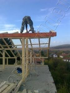 Изграждане на дървена конструкция - 2