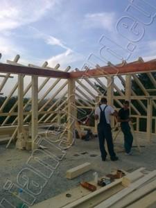 Изграждане на дървена конструкция - 3