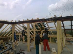 Изграждане на дървена конструкция - 4