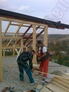Изграждане на дървена конструкция - 5