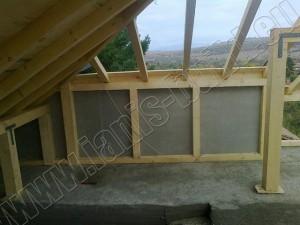 Изграждане на дървена конструкция - 7