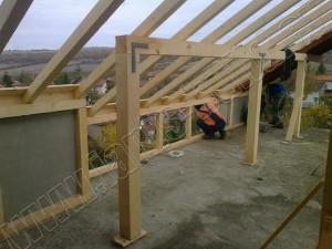 Изграждане на дървена конструкция - 6